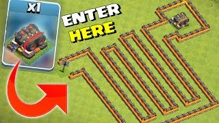DOUBLE CANNON MAZE!! | Clash Of Clans | ONLY GIANTS ALLOWED!!!