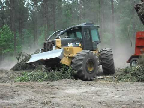 CAT 535C Skidder with Grapple, Winch, 3700 Hours for Sale