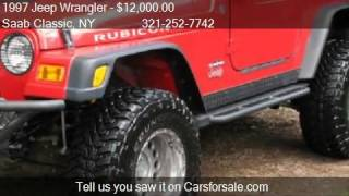 1997 Jeep Wrangler RUBICON - for sale in Staten Island, NY 1(Saab Classic 145 Storer Ave. in Staten Island, NY 10309 Come test drive this 1997 Jeep Wrangler RUBICON for sale in Staten Island, NY. http://saabclassic.net ..., 2013-09-10T16:00:55.000Z)