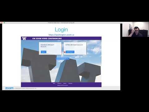UW Zoom webinar