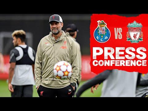 Liverpool Champions League press conference |  Porto