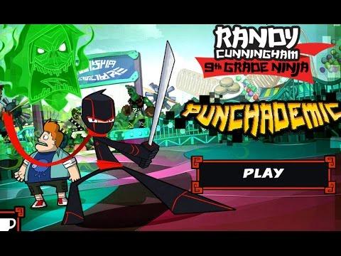 игра рэнди девятиклассник-ниндзя каннингем