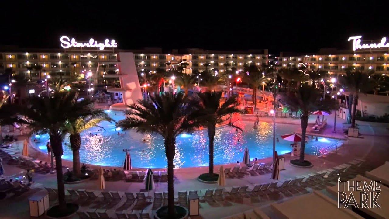 Universal S Cabana Bay Beach Resort Night Tour Universal