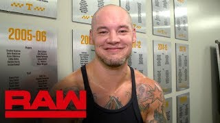 King Corbin motivated by spite: Raw Exclusive, Sept. 16, 2019