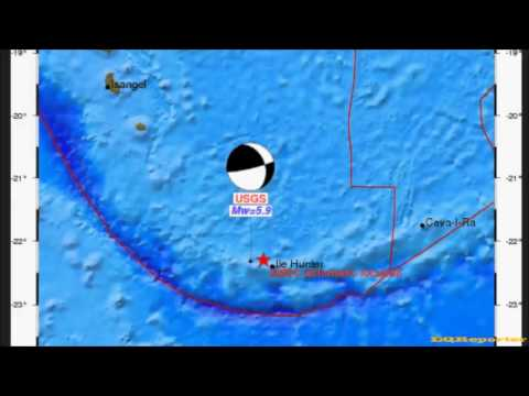 M 6.0 EARTHQUAKE - SOUTHEAST OF THE LOYALTY ISLANDS 10/23/12