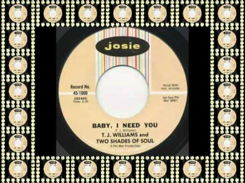 BABY, I NEED YOU - TJ WILLIAMS (JOSIE) #Pangaea