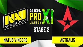 CS:GO - Astralis vs. Natus Vincere [Dust2] Map 2 - ESL Pro League Season 11 - Stage 2