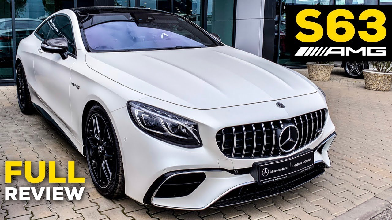 S63 Amg Coupe >> 2019 Mercedes Amg S63 Coupe V8 Full Review Brutal Sound Interior Exterior Infotainment Cashmere