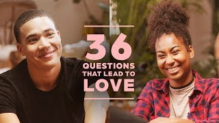 Can 2 Strangers Fall in Love with 36 Questions? Russell + Kera