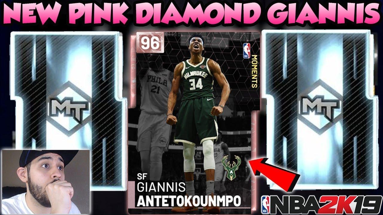 Pink Diamond Giannis Antetokounmpo