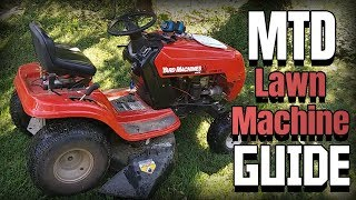 How to Operate an MTD Yard Machine Lawn Tractor |  Riding Mower Instructional Video | Model 760 770