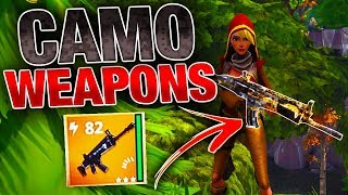 CAMO Nocturnos & Grave Diggers! | RARE Weapon Skins! | Fortnite Save the World