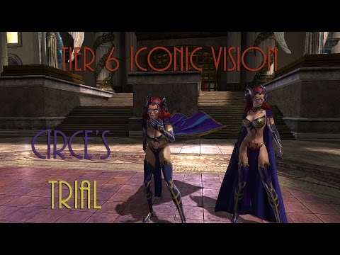 DCUO - Tier 6 Iconic Vision - Circe