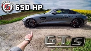 Mercedes AMG GTS 650 HP PP Performance REVIEW POV Test Drive by AutoTopNL
