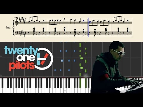 twenty one pilots: Ride - Piano Tutorial + Sheets