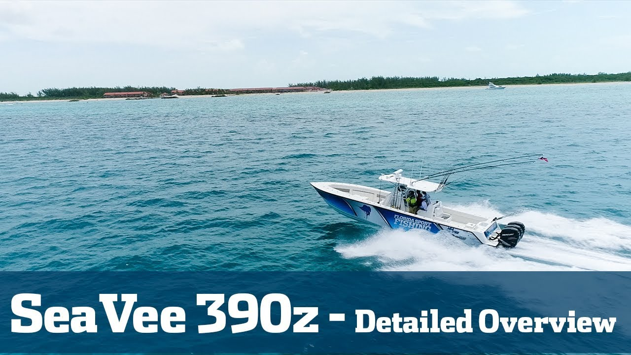 SeaVee 390Z Detailed Walk-Thru - Florida Sport Fishing TV