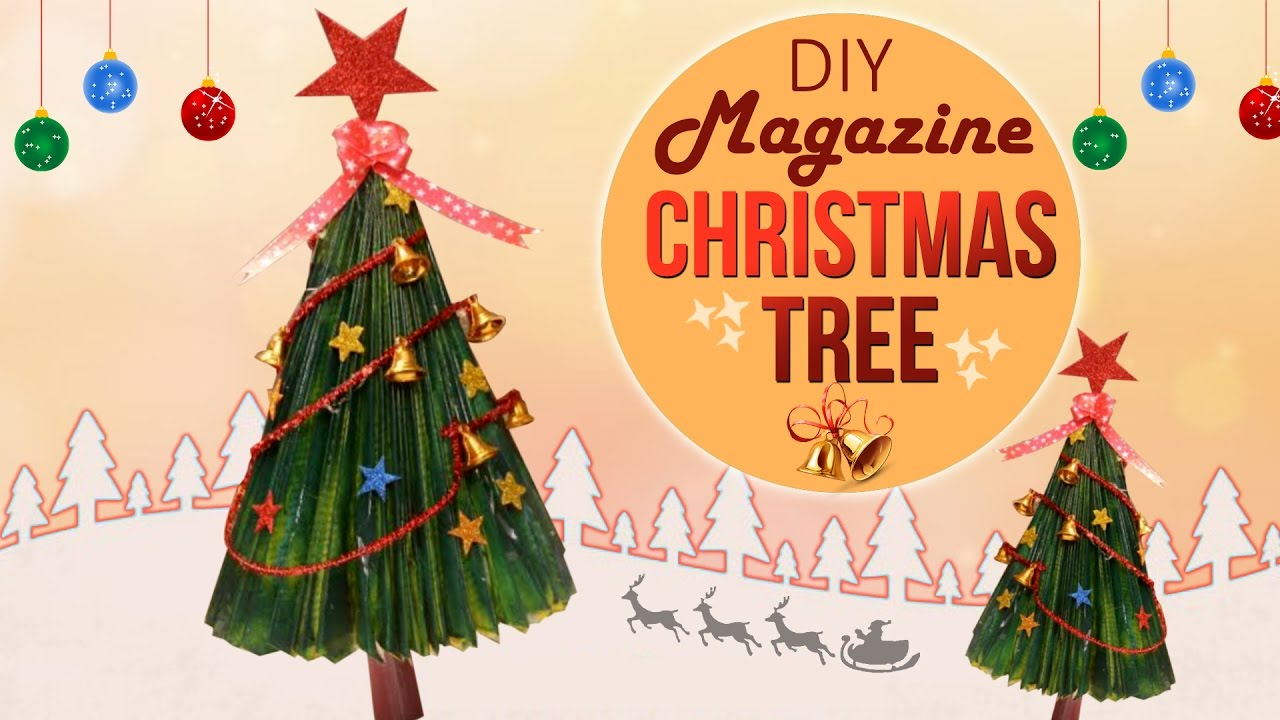 Easy To Make X'mas Tree From