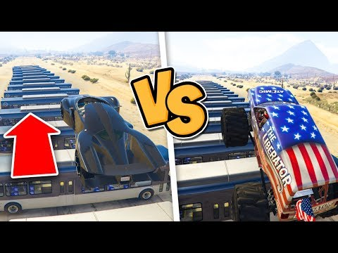 Gta 5 ITA - X80 Proto Vs Monster Truck! - Quale salta di pi??
