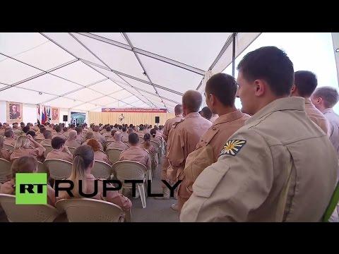 Syria: Hmeymim Airbase hosts new Syrian-Russian cultural centre