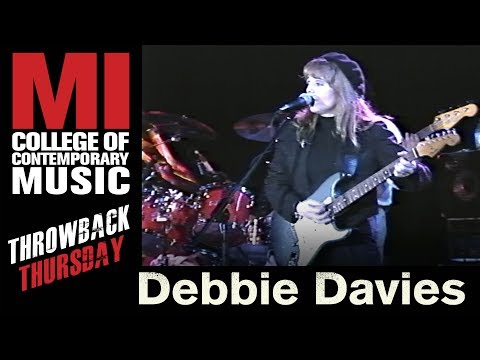 Debbie Davies Throwback Thursday From the MI Library