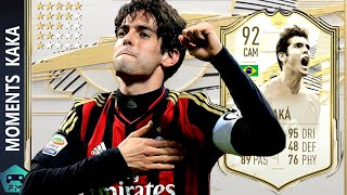 FIFA 21 KAKA ICON MOMENTS PLAYER REVIEW | BEST ATTACKER? |
