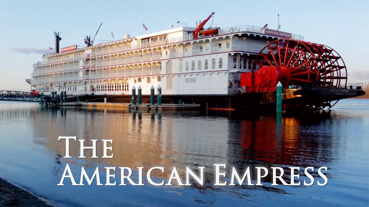 River Cruising On The American Empress Youtube
