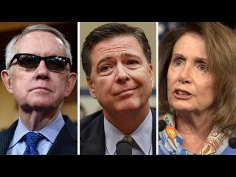 Democrats lash out at Comey over new Clinton email probe
