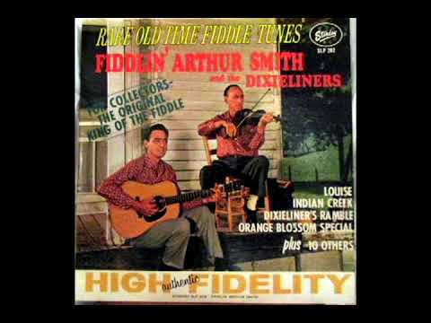 Rare Old Time Fiddle Tunes 1962 Fiddlin Arthur Smith And The Dixieliners Youtube