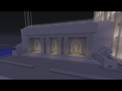 Minecraft Gotham City: Gotham Library