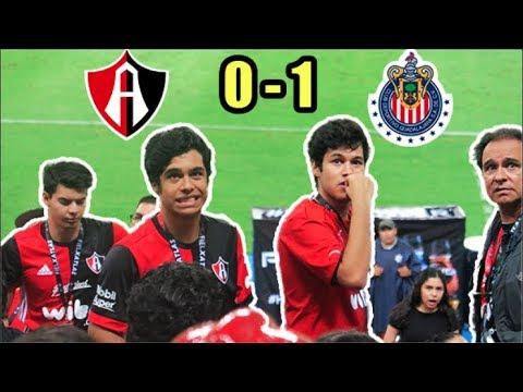¡HUNDIDOS Y SIN GOL! Reacciones desde el Jalisco Atlas 0-1 Chivas