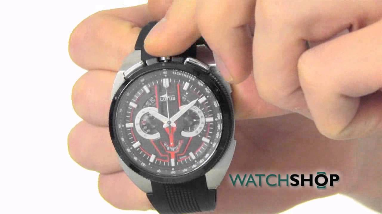 5ee68fbaef67 Lotus Men s Chronograph Watch (L10128 1) - YouTube