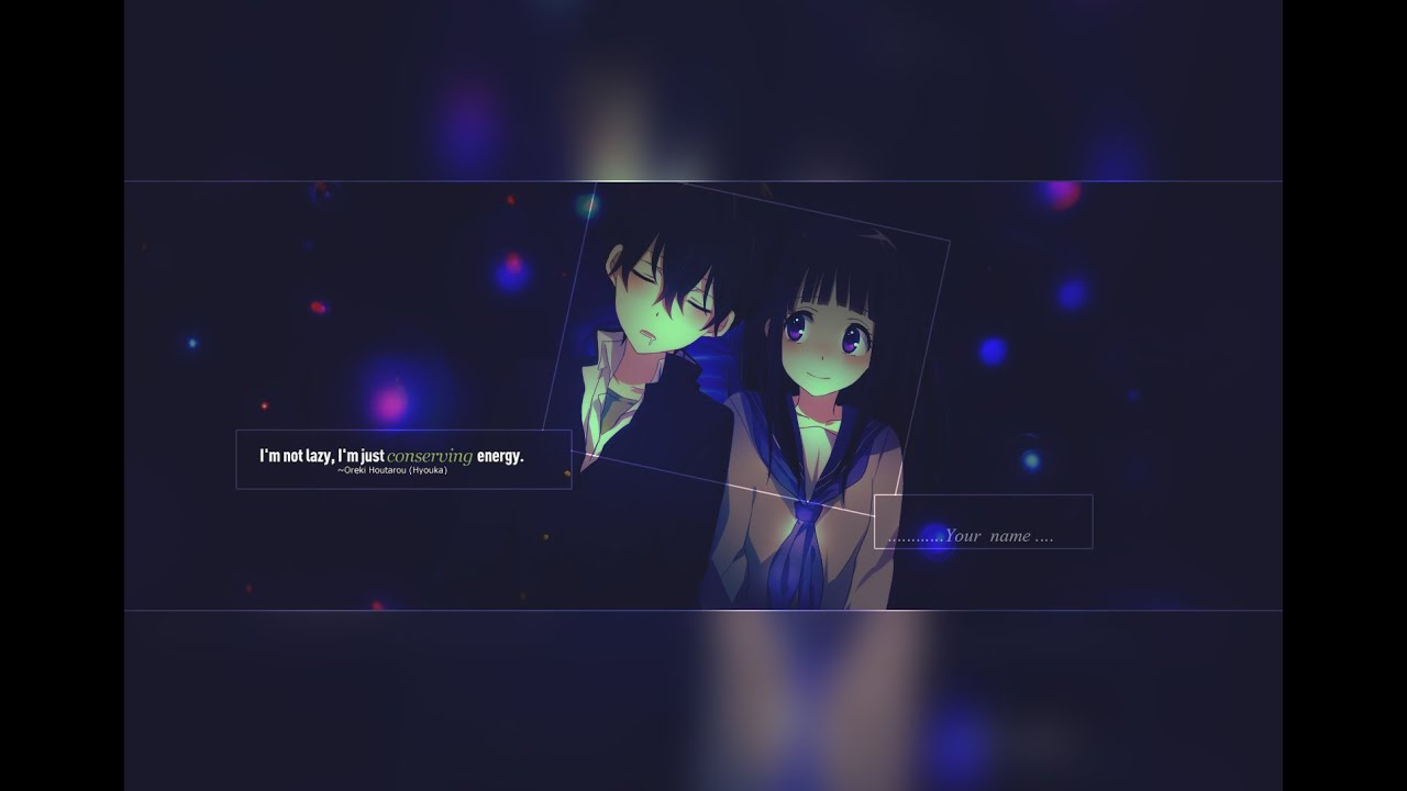 anime couple signature tutorial free psd template youtube