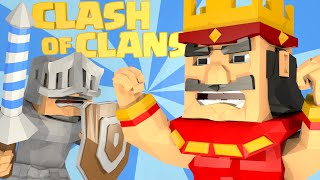 Minecraft | CLASH OF CLANS - Explosive 4 Barrel Clan Cannon!