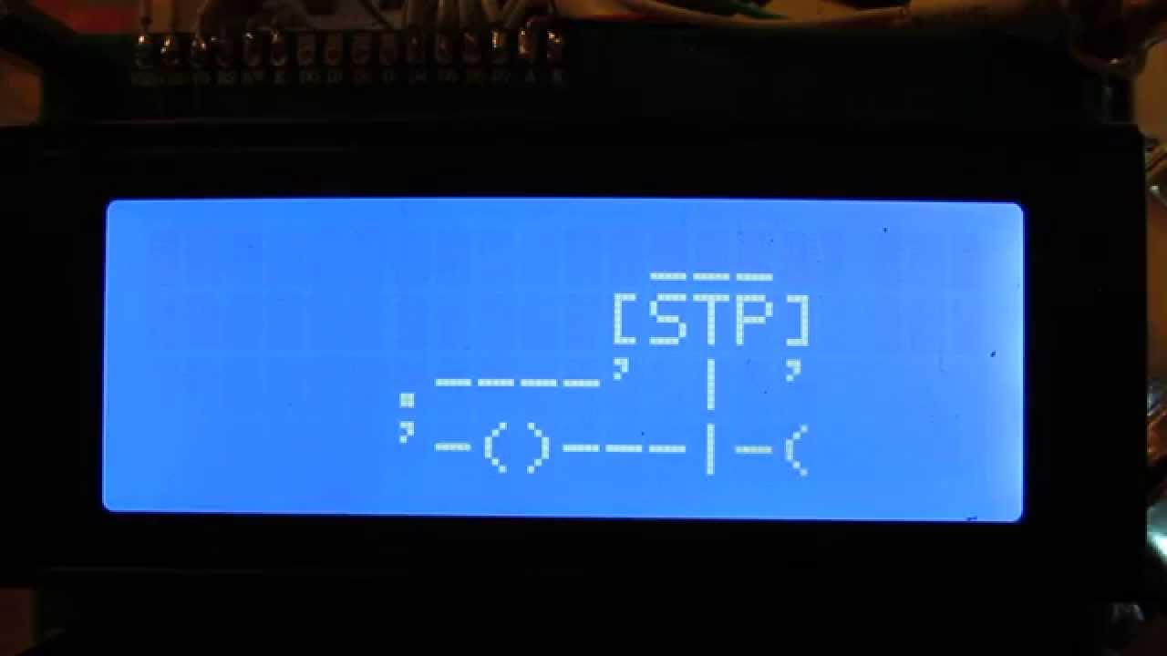 Auto ASCII ART on lcd