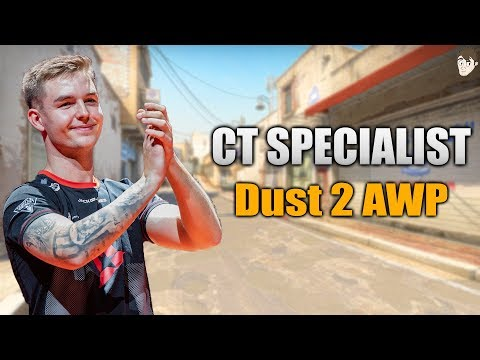 CT Specialist: Dev1ce's AWP Positioning on Dust 2
