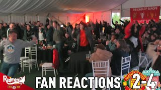 Salah Goal Seals HUGE Win! | Man United 2-4 Liverpool | Goal Reactions From Hotel Anfield