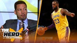 Chris Broussard talks LeBron recruiting Anthony Davis, Chris Paul injury | NBA | THE HERD