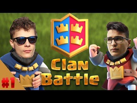 El sem hiszem hogy ez működik! | Clan Battle With Kerim #1 | Clash Royale Magyarul