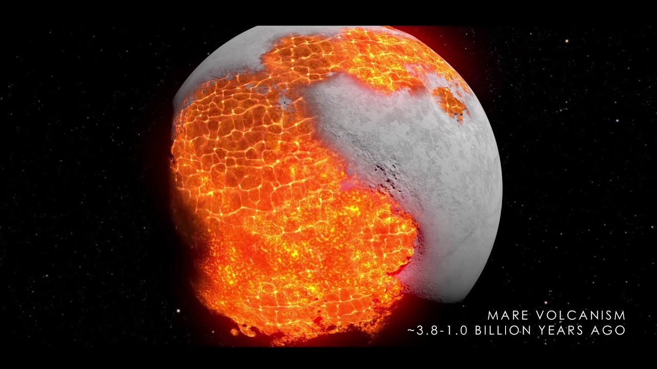 月球的演化