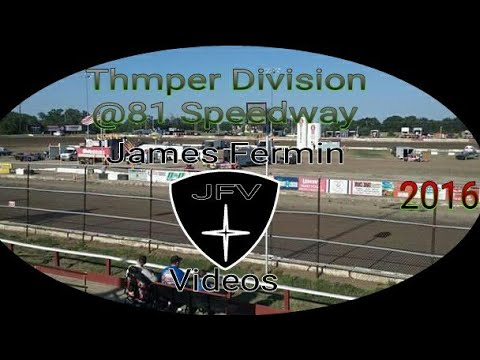 Thumper Division Feature #12, 2016, 81 Speedway
