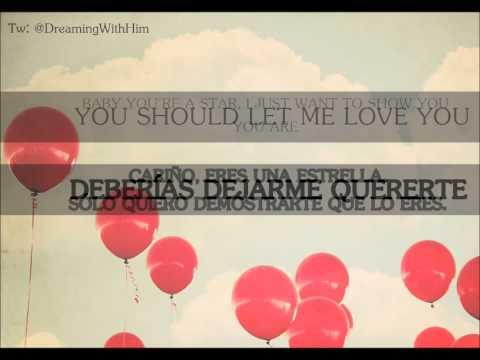 Let me love you - Somo - Lyrics/Letra