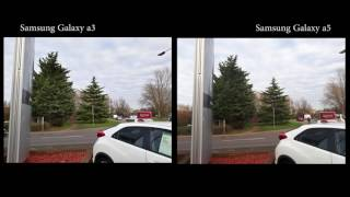 samsung galaxy a3 vs samsung galaxy a5 camera test outdoor 4k