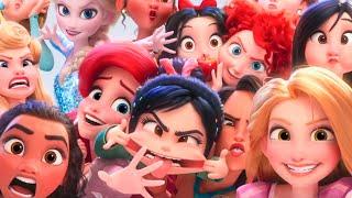 WRECK-IT RALPH 2 - Frozen, Merida, Disney Princesses and Baby Moana Funny Scenes (2018) Best Moments