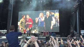 Dave Grohl breaks his leg during show in Gothenburg, Sweden