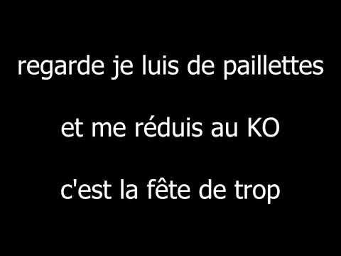Eddy de Pretto • Fête de trop • Paroles