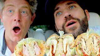 ULTIMATE SANDWICH MUKBANG WITH JASON AND JOE!!
