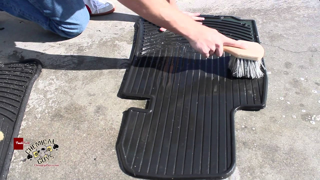 Weathertech mats cleaner - How To Clean Rubber Floor Mats Green Clean Chemical Guys Detailing Bmw E39 Youtube