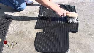 How To Clean Rubber Floor Mats - Green Clean Chemical Guys Detailing BMW E39(Green Clean Concentrated All Surface Cleaner & Degreaser (16 oz) http://www.chemicalguys.com/ProductDetails.asp?, 2013-05-24T00:08:35.000Z)