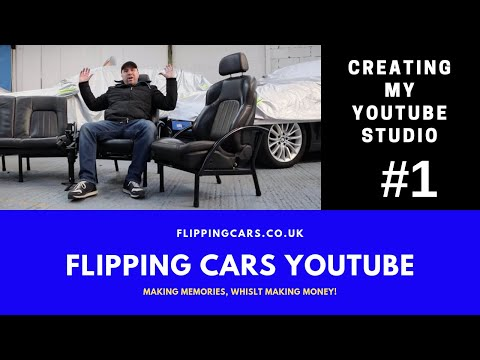 The Flipping Cars YouTube Studio #1 | Flipping Cars