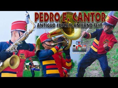 Pedro F  Cantor en Antiguo Cuscatlan Band Fest